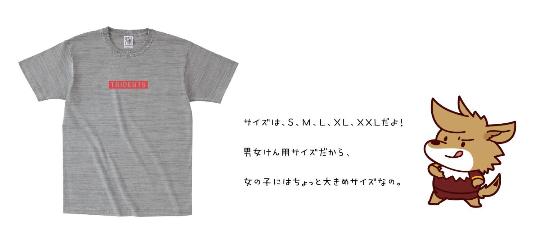 VC長野トライデンツシンプルTシャツ