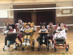 松本養護学校へ訪問