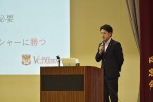 岡谷南高校 講演会