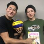 笠利真吾(#5)と池田幸太(#9)のVCブローーーグ(笑)