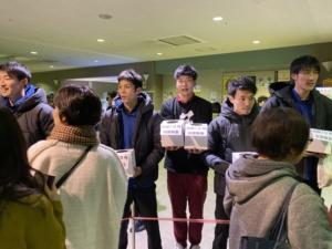 11月30日伊那大会/12月7日,8日松本大会 台風19号災害募金