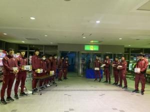 2月15日、16日松本大会 台風19号災害募金