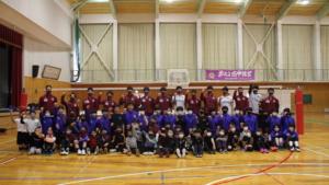 NPO法人南箕輪わくわくクラブ主催バレーボール教室に参加いたしました