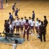 中学生のバレーボール